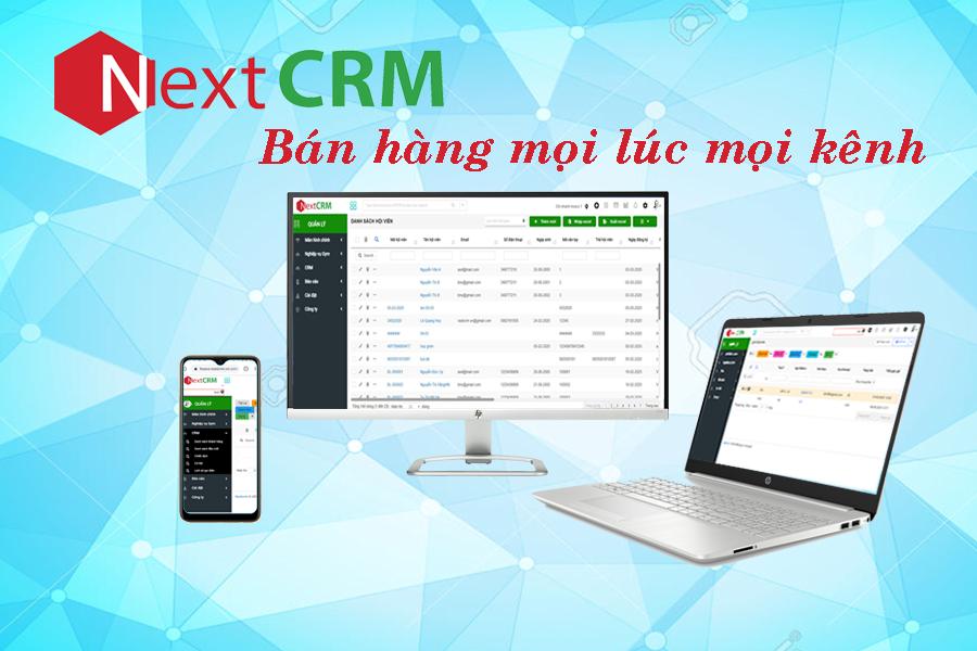 phần mềm quản lý và chăm sóc khách hàng NextCRM