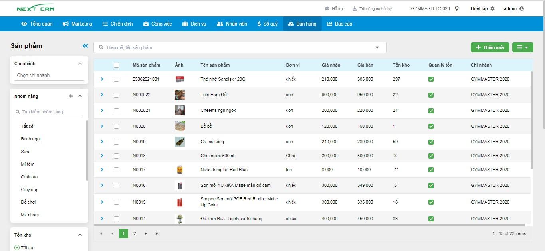 Phần mềm bán hàng DataPOS Siêu thị thuốc MEGA 3