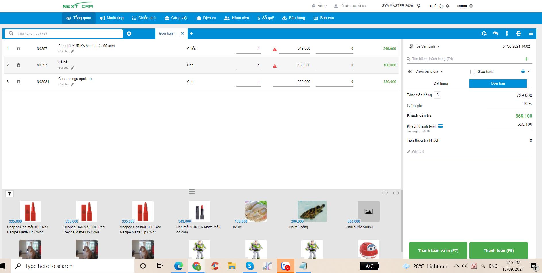 Phần mềm quản lý Hệ thống Phân phối