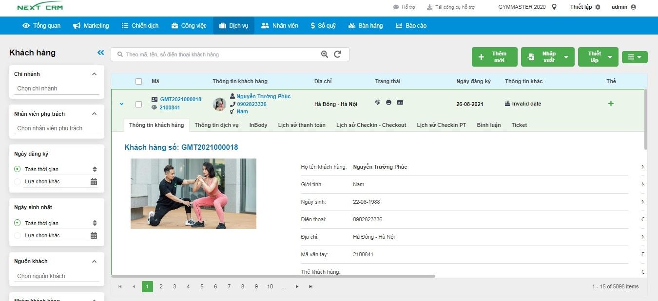 Big Update – Phần mềm quản lý phòng tập Gym Master V2019 – Cách mạng thị trường phần mềm Gym tại Việt Nam