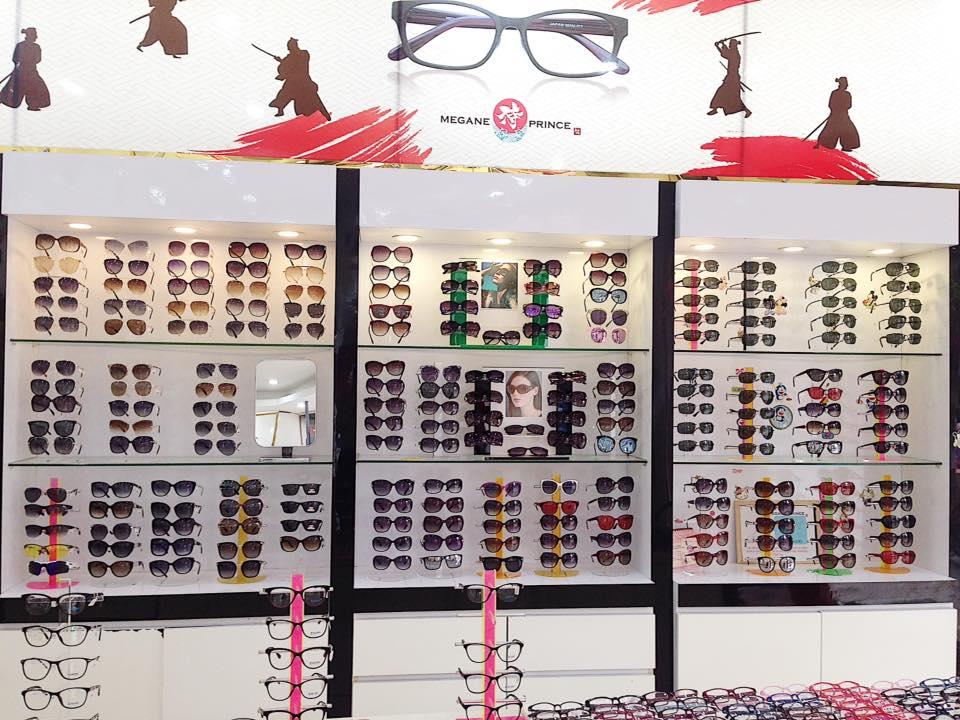 Phần mềm quản lý cửa hàng mắt kinh cho hãng Megane Prince