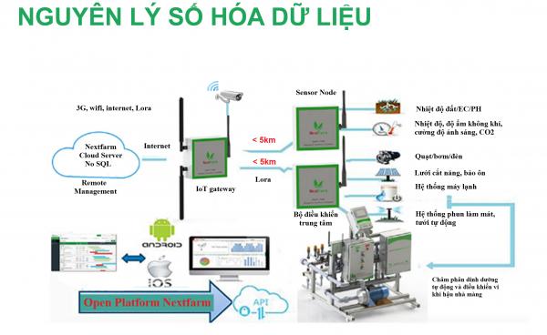 Giới thiệu hệ thống quan trắc môi trường nông nghiệp Nextfarm