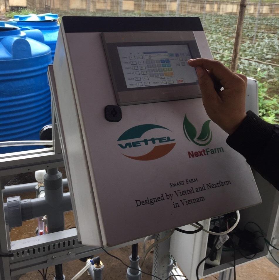 Nextfarm tiếp tục cùng Tập đoàn Viettel triển khai thành công giải pháp Nông nghiệp thông minh – Hệ thống tưới châm phân dinh dưỡng tích hợp kiểm soát cảnh báo sớm môi trường khí tượng