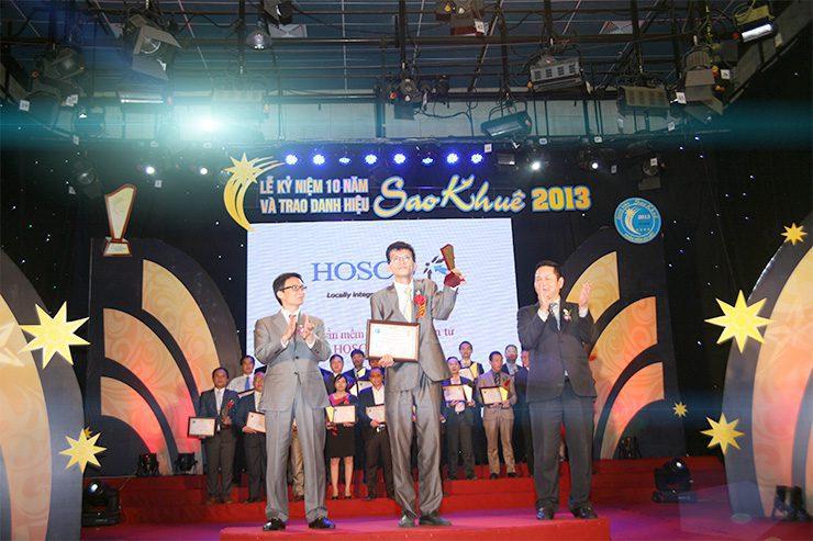 NextEdu vinh hạnh nhận giải thưởng tại giải thưởng sao khuê 2013